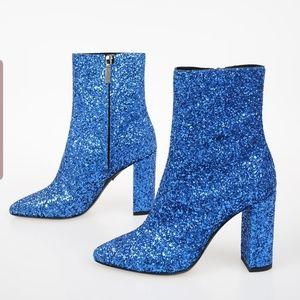 Saint Laurent loulou glitter booties
